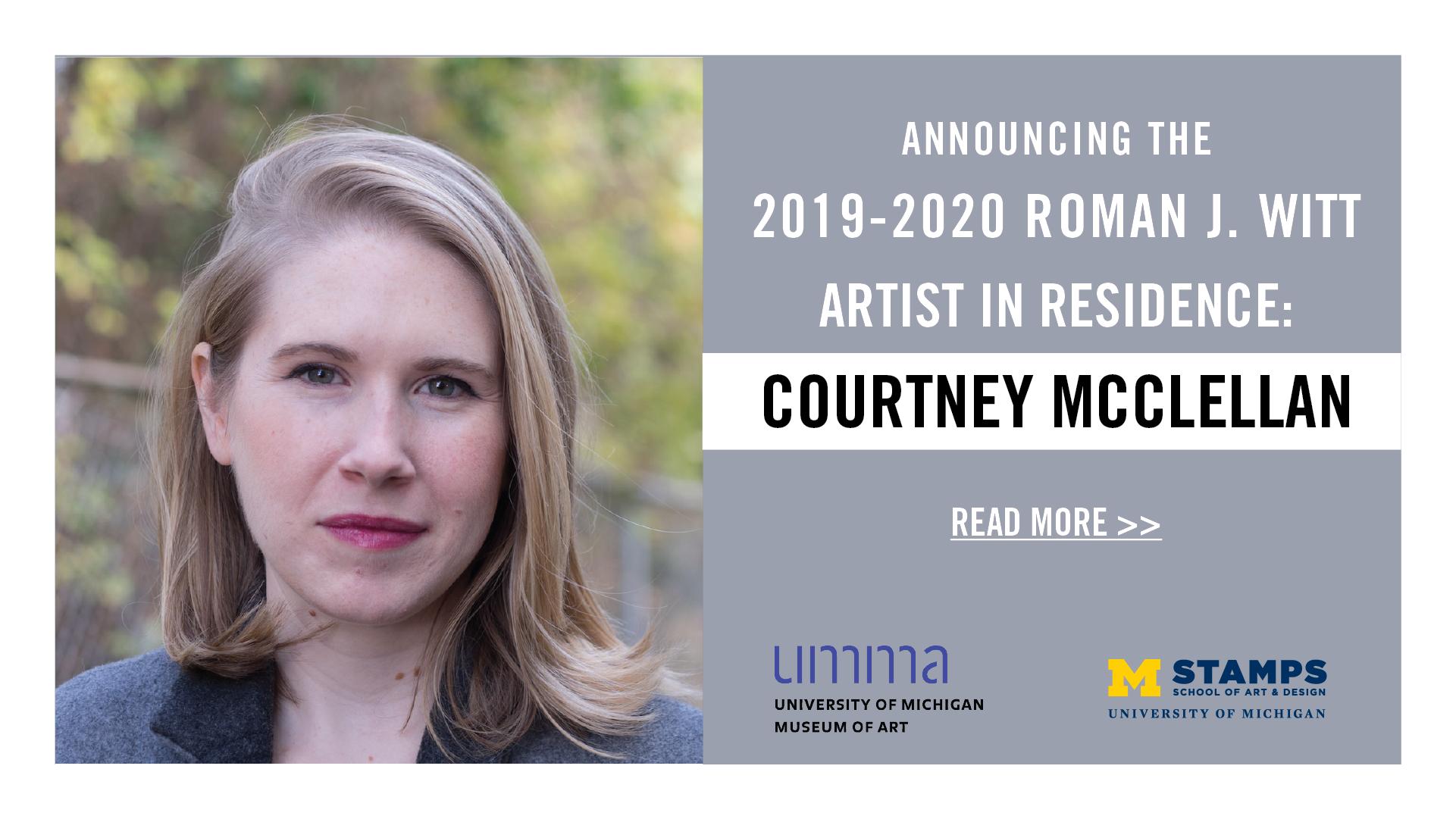 Announcing the 2019-2020 Witt Residency