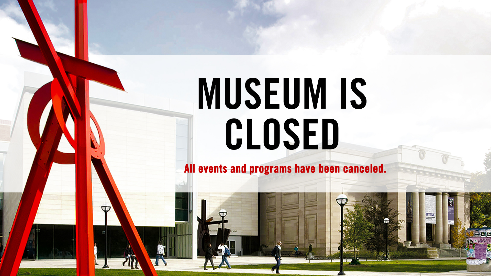 Museum is Closed to the Public