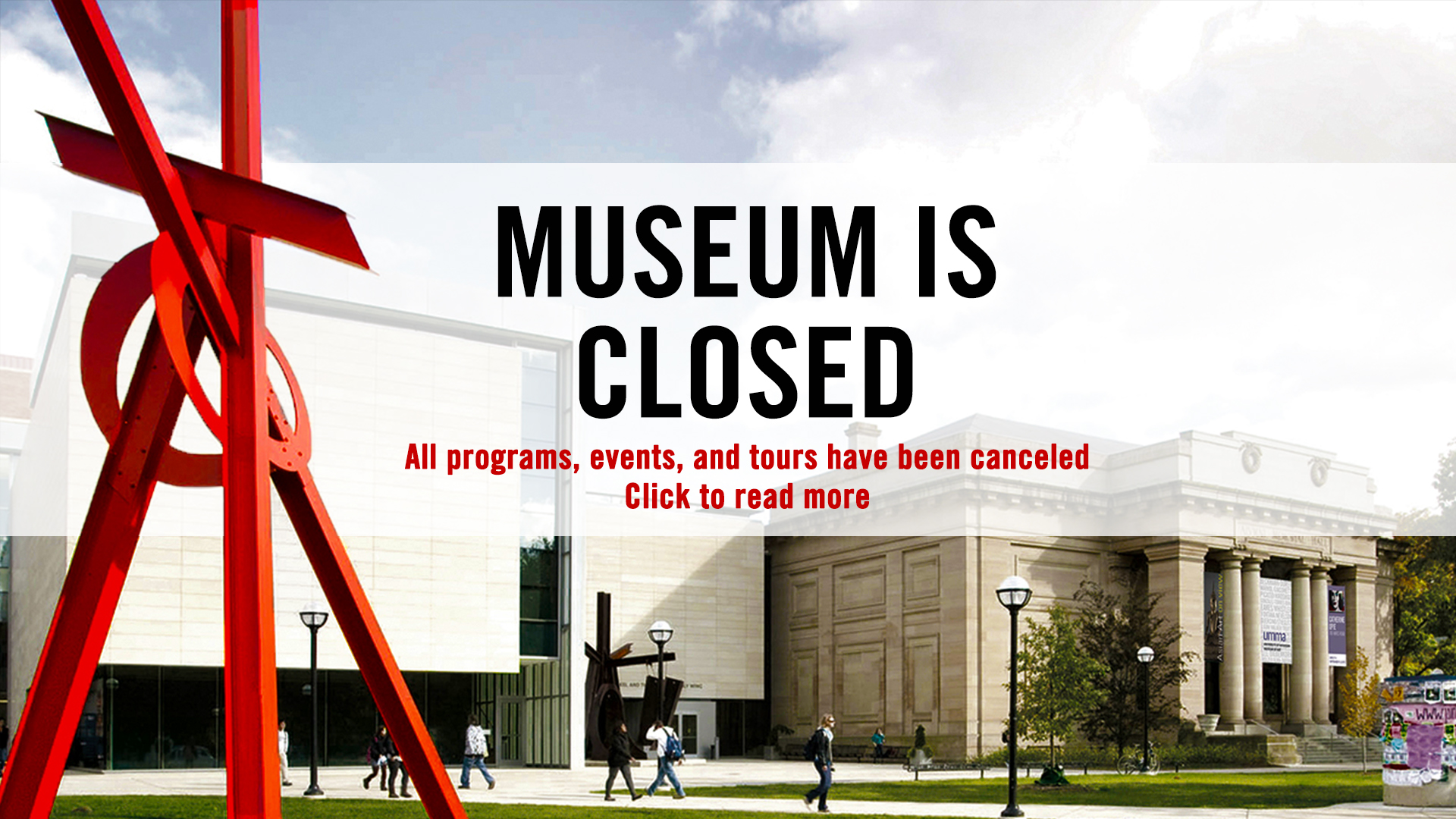 Museum Closed To The Public