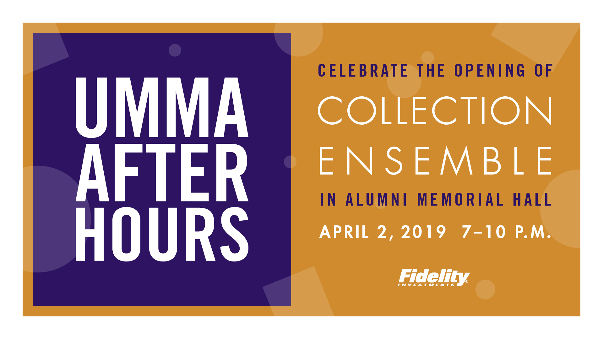 UMMA After Hours April 2 to celebrate the opening of collection ensemble