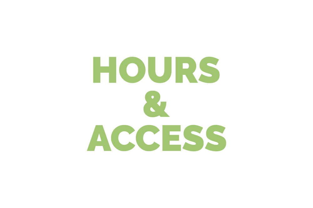 hours & access