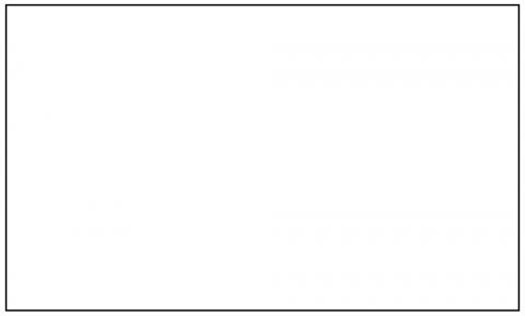 A blank white rectangle