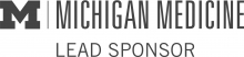 Logo for Michigan Medicine as Lead Sponsor